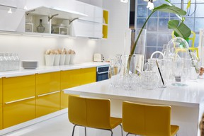 At last week's Interior Design Show, Ikea debuted its sublime new kitchen SEKTION which offers beauty and function at an affordable price point.