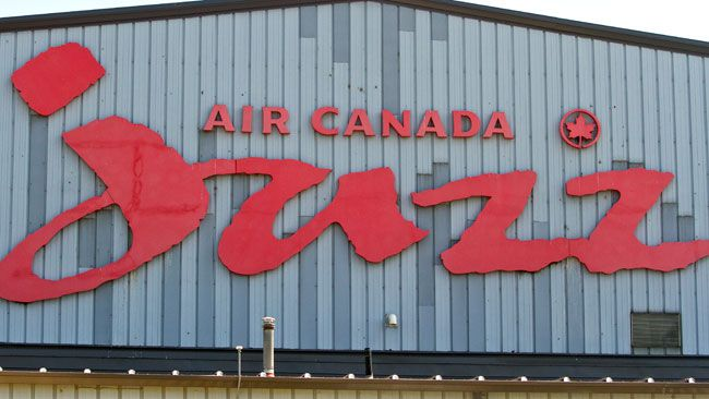 Air Canada's Jazz hanger may have a new use, photographed on Wednesday Jul y  17, 2013 in London, Ont. MIKE HENSEN/QMI AGENCY