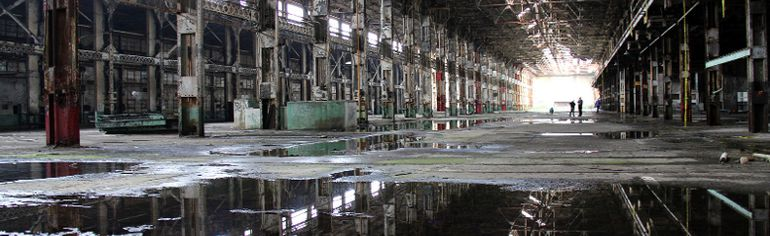 This interior photo shows the impressive scale of the former GTR/CNR locomotive repair shops at the Cooper site in Stratford. CONTRIBUTED PHOTO/Lesley Walker-Fitzpatrick