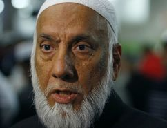 Imam Syed Soharwardy is shown in Calgary, Oct. 24, 2014. (JIM WELLS/QMI Agency)