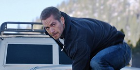 The late Paul Walker in a scene from Furious 7.