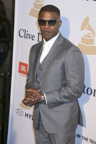 Pre-GRAMMY Gala & Salute to Industry Icons with Clive Davis: Jamie Foxx. (Dave Bedrosian/Future Image/WENN.com)
