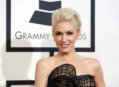 Musician Gwen Stefani arrives at the 57th annual Grammy Awards in Los Angeles, California February 8, 2015.  REUTERS/Mario Anzuoni