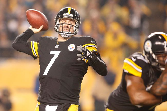 Even at 33, Ben Roethlisberger is still improving as a quarterback, or so says Steelers GM Kevin Colbert, who is looking to ink him to a contract extension. (USA TODAY)