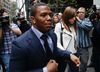 Former Ravens running back Ray Rice and his wife Janay arrive for a hearing in New York City on Nov. 5, 2014. (Mike Segar/Reuters/Files)