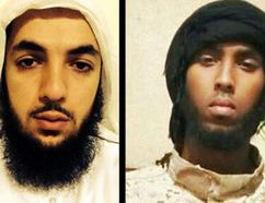 John Maguire (left) Awso Peshdary and Khadar Khalib (right) all face terror-related charges. Ottawa Sun photo