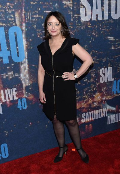 Comedian Rachel Dratch attends SNL 40th Anniversary Celebration at Rockefeller Plaza on February 15, 2015 in New York City. (Larry Busacca/Getty Images/AFP)