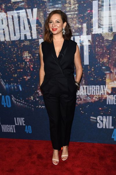 NEW YORK, NY - FEBRUARY 15: Actress Maya Rudolph attends SNL 40th Anniversary Celebration at Rockefeller Plaza on February 15, 2015 in New York City.   Larry Busacca/Getty Images/AFP == FOR NEWSPAPERS, INTERNET, TELCOS & TELEVISION USE ONLY ==