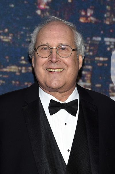 Comedian Chevy Chase attends SNL 40th Anniversary Celebration at Rockefeller Plaza on February 15, 2015 in New York City. (Larry Busacca/Getty Images/AFP)