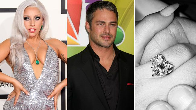 Lady Gagas engagement ring and famous bling Owen Sound Sun Times