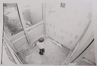 Elijah, 3, was last seen on security camera footage in the lobby of a building on Neptune Dr. (Toronto Police handout)