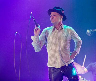 The Tragically Hip in concert at the Air Canada Centre in Toronto, Ont. on Thursday February 19, 2015. Craig Robertson/Toronto Sun/QMI Agency