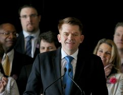 Brian Jean is shown at a media conference on Wednesday February 25, 2015 in Calgary, Alta where he announced that he will seek the leadership of the Alberta Wildrose Party. Jim Wells/Calgary Sun/QMI Agency