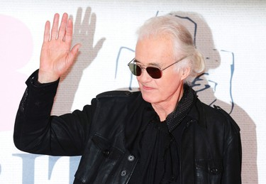 Musician Jimmy Page arrives for the BRIT music awards at the O2 Arena in Greenwich, London, February 25, 2015. REUTERS/Suzanne Plunkett
