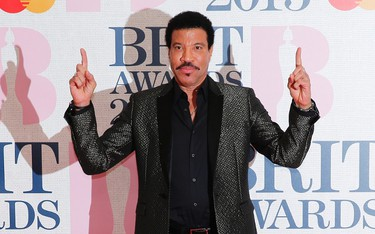 Singer Lionel Ritchie arrives for the BRIT music awards at the O2 Arena in Greenwich, London, February 25, 2015. REUTERS/Suzanne Plunkett
