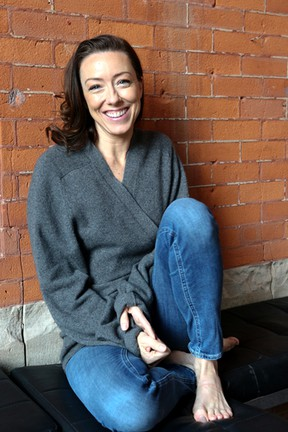 """Molly Parker, photographed in Toronto on Wednesday, Feb. 18, 2015.  She is starring in """"Harper Regan"""", a Canadian Stage Production. (Veronica Henri/QMI Agency)"""