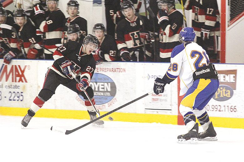 The Fort Saskatchewan Junior B Hawks have bounced back from losing Game 1 of their playoff series against the Leduc Riggers, winning two in a row to take the series lead.