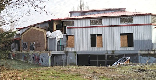 The old Surrey Public Market is being called an 'eyesore'.
