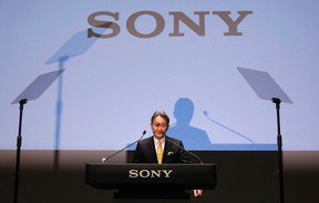 Sony Corp's president and CEO Kazuo Hirai attends a corporate strategy meeting at the company's headquarters in Tokyo Feb. 18, 2015. REUTERS/Issei Kato