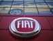 The Fiat logo is pictured at a car dealership at Motor Village in Los Angeles, California in this October 13, 2014 file photo.  REUTERS/Mario Anzuoni/Files