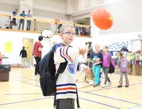Students at Brunswick School were busy with their annual Telemiracle Carnival at the school on Thursday, February 26. There were many activities to take part in as each class went through the school's gym, stage and balcony.