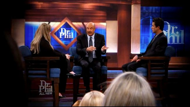 Screen shot from the Dr. Phil show.