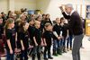 Ivars Taurins conducts the Amabile Da Capo and Treble Training Choirs in preparation of Sunday?s concert and 30th anniversary fest at Centennial Hall. (DEREK RUTTAN, London Free Press)