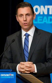 Barrie MP Patrick Brown