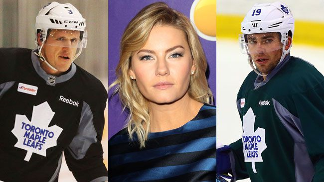 "Dion Phaneuf, Elisha Cuthbert and Joffrey Lupul have sent a letter to TSN demanding a formal apology and ""pay a significant amount of damages"" for broadcasting a defamatory tweet. (QMI Agency/WENN/QMI Agency)"