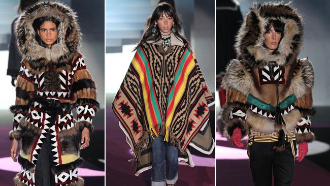 Canadian brothers Dean and Dan Caten behind DSquared2 have come under fire after debuting a First Nations-inspired fashion line this week during Milan Fashion Week, named after a racial slur. (WENN.COM)