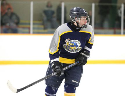Nicholas Marion of the College Notre Dame Alouettes boys hockey team is the week's Cambrian College/Sudbury Star High School GameChanger Award winner.