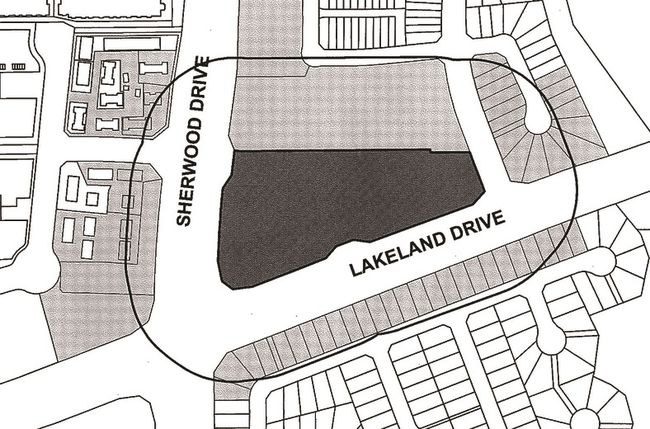The Area Where Aspen Trails Retail District Will Be Located In Sherwood Park Graphic Courtesy