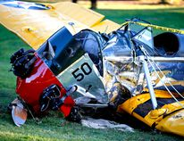 Actor Harrison Ford was hurt after his plane crashed Thursday. (PHOTO: REUTERS)