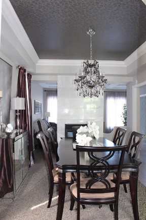 Builders in the Municipality of Clarington have been very busy last year compared to the previous year.  Seen here: Inside one of the Esquire Homes models in Northglen, just off Highway 57 in Bowmanville.