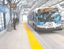 Several other Canadian cities, including Winnipeg, have systems in place using buses and trains. (File photo)