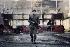 Jack O'Connell stars as Gary Hook, a young British soldier sent to Belfast, in the Yann Demange's '71.