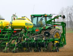 With winter finally coming to an end, farmers are gearing up to start seeding – and the sooner the better as early seeding usually leads to higher yielding crops. (MIKE HENSEN/The London Free Press/QMI Agency)