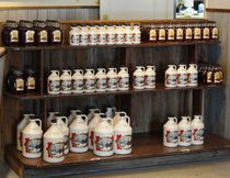 Maple syrup by the bottle and jug are available at Shaw's. (Barbara Fox/Special to QMI Agency)