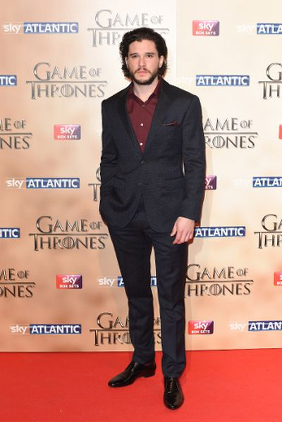 """'Game of Thrones' world premiere held at the Tower of London on March 18, 2015 featuring Kit Harington. (Daniel Deme/<A HREF=""""http://www.wenn.com"""" TARGET=""""newwindow"""">WENN.COM</a>)"""