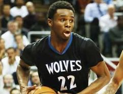 Andrew Wiggins against the Raptors on March 18. (Stan Behal/Toronto Sun/QMI Agency)