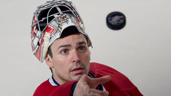 Montreal Canadiens goalie Carey Price during the third period of a game against the Toronto Maple Leafs at the Bell Centre on February 28, 2015. (PIERRE- PAUL POULIN/LE JOURNAL DE MONTRÉAL/QMI AGENCY)
