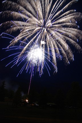 The fireworks at Spock Days will light up the sky on Saturday, June 13 this year. Advocate file photo