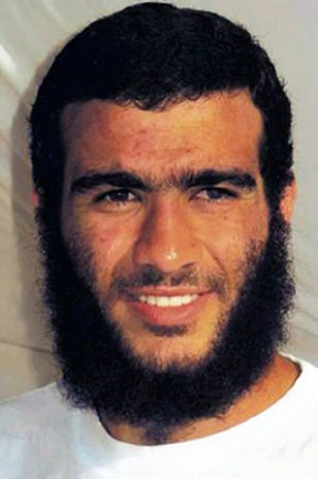 Omar Khadr. (Red Cross)