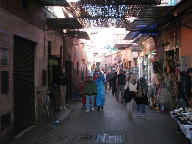 In Marrakech, a warren of alleys weave their way through the medina, the city's ancient centre. MIKE STROBEL/TORONTO SUN
