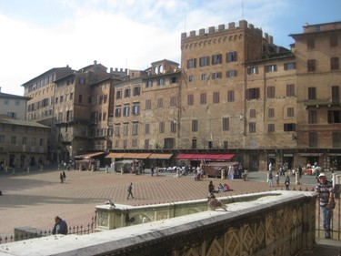 The ancient town square in Siena. The UNESCO World Heritage Site is famous for its culinary traditions, and the Palio - a traditional horse race held twice a year. FRED RINNE/QMI Agency