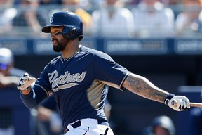 Ex-Dodger Matt Kemp is part of a complete overhaul of the Padres outfield. (Getty Images/AFP)