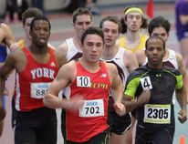 Guelph Gryphon and Norfolk native Tommy Land recently ended his track season for the year with two bronze medals at the 2015 Canadian Interuniversity Sport Track and Field Championship. (Contributed Photo)