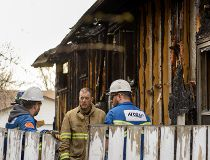 Rundle house fire 50 St March 27 2015