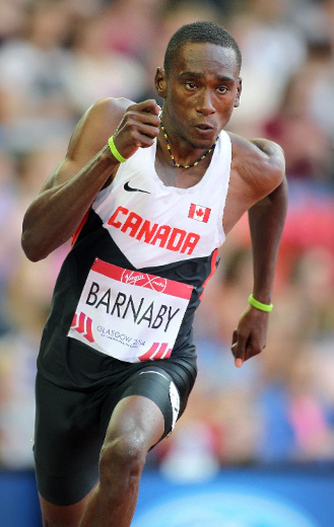 Daundre Barnaby (Athletics Canada photo)