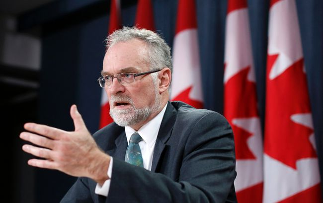 Canada's Auditor General Michael Ferguson speaks during a news conference upon the release of his report in Ottawa November 25, 2014. REUTERS/Chris Wattie